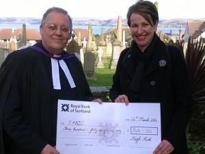 Stranraer cheque