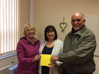 A Big Thank You To Linda & Hugh Kelly Who Have Raised £400 For DG Sands
