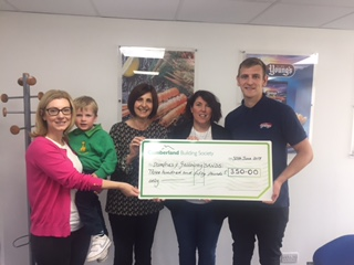 Young's Seafood of Annan Raise £350